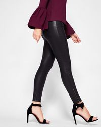 Ted Baker - Skinny Textured Jeans - Lyst