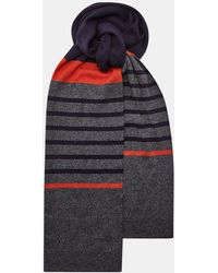 Ted Baker - Striped Scarf - Lyst