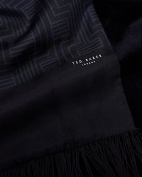 Ted Baker - Geo Print Silk Scarf - Lyst