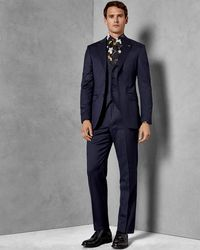 Ted Baker - Debonair Plain Wool Suit Jacket - Lyst