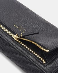Ted Baker - Quilted Leather Envelope Matinee Purse - Lyst