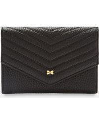 Ted Baker - Quilted Envelope Leather Purse - Lyst