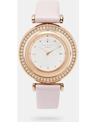 Ted Baker - Rotating Dial Watch - Lyst