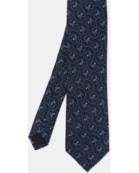 Ted Baker - Monkey Print Jacquard Silk Tie - Lyst