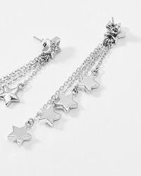 Ted Baker - Crystal Star Drop Earrings - Lyst