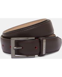 Ted Baker - Leather Belt - Lyst