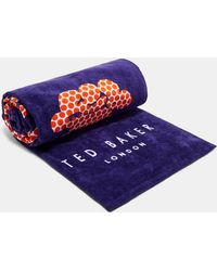 Ted Baker - Woven Cotton Lobster Beach Towel - Lyst