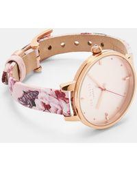 Ted Baker - Iguazu Strap Watch - Lyst