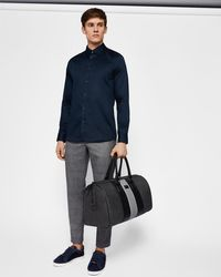 Ted Baker - Stretch Satin Shirt - Lyst