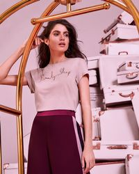 Ted Baker - Beauty Sleep Logo Fitted T-shirt - Lyst