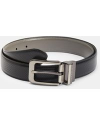 Ted Baker Carbon fibre belt - Negro