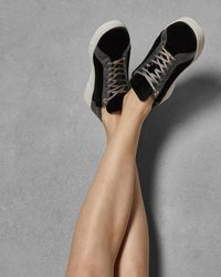 Ted Baker - Glitter Trainers - Lyst