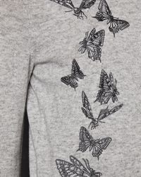 Ted Baker - Embroidered Butterfly Cotton Blend Jumper - Lyst