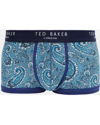 Ted Baker - Paisley Print Boxer Shorts - Lyst