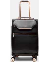 Ted Baker | Metallic Trim Small Suitcase | Lyst