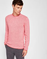 Ted Baker - Crew Neck Sweater - Lyst