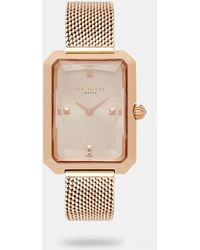 Ted Baker - Square Dial Watch - Lyst