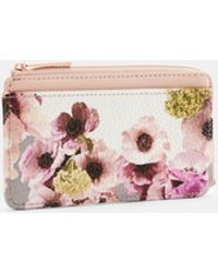 b41f2e4a6ea Ted Baker Lori Textured Zipped Credit Card Holder - Lyst