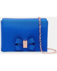 Ted Baker - Looped Bow Evening Bag - Lyst