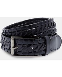 Ted Baker - Woven Leather Belt - Lyst