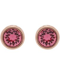 Ted Baker - Round Stud Earrings - Lyst