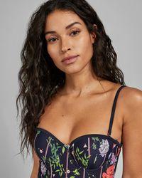 0971eccf8f Women's Ted Baker Swimwear, Bikinis & Swimsuits - Lyst