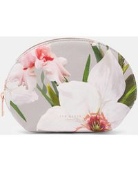 Ted Baker - Chatsworth Dome Cosmetic Bag - Lyst