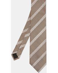 Ted Baker - 7cm Striped Silk Tie - Lyst