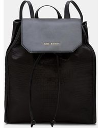 Ted Baker - Exotic Detail Backpack - Lyst