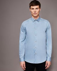 Ted Baker - Rectangle Print Shirt - Lyst