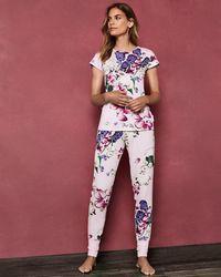 Ted Baker - Kensington Floral Pyjama Bottoms - Lyst