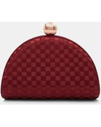 Ted Baker - Woven Clutch Bag - Lyst