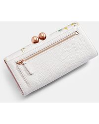 Ted Baker - Elegant Leather Bobble Matinee Purse - Lyst
