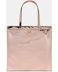 3a69ed75c38963 Ted Baker Evecon Large Shopper Bag in Pink - Lyst