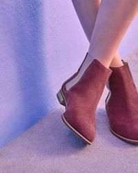 Ted Baker - Suede Ankle Boots - Lyst