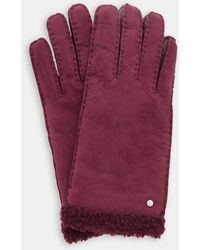 Ted Baker - Classic Shearling Gloves - Lyst