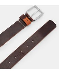 Ted Baker - Leather Casual Belt - Lyst