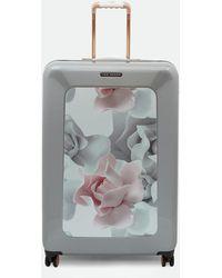 Ted Baker - Porcelain Rose Large Suitcase - Lyst
