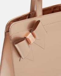Ted Baker - Large Bow Icon Bag - Lyst