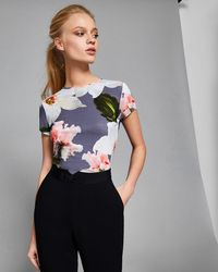 Ted Baker - Chatsworth Fitted T-shirt - Lyst