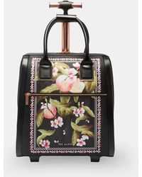 a8a39e065fff58 Ted Baker Manning Luggage Lock Duffle (bowler) in Black - Lyst