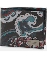 Ted Baker - Printed Leather Card Holder - Lyst