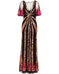 f54c522c4af Temperley London - Sycamore Sequinned Gown - Lyst