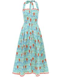 Temperley London - Cypress Printed Shirt Dress - Lyst