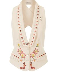 Temperley London - Juniper Cross-back Waistcoat - Lyst