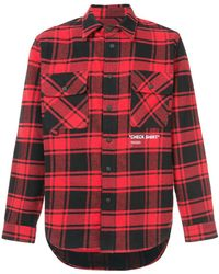 Off-White c/o Virgil Abloh - Scottish Checked Shirt - Lyst