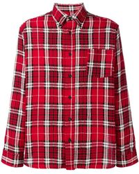 Isabel Marant - Casual Checked Shirt - Lyst