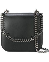 Stella McCartney - Falabella Box Shoulder Bag With Chain - Lyst
