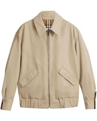 Burberry - Check Jacket - Lyst