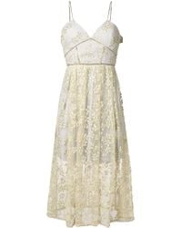 Self-Portrait - Lace Dress - Lyst